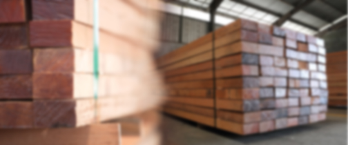 sawn timber blur